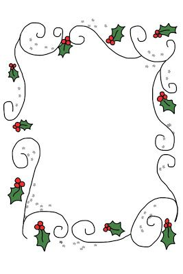Photo of The Holly, poem and border