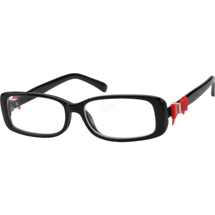 Red Plastic Full-Rim Frame #271018 | Zenni Optical Eyeglasses ...