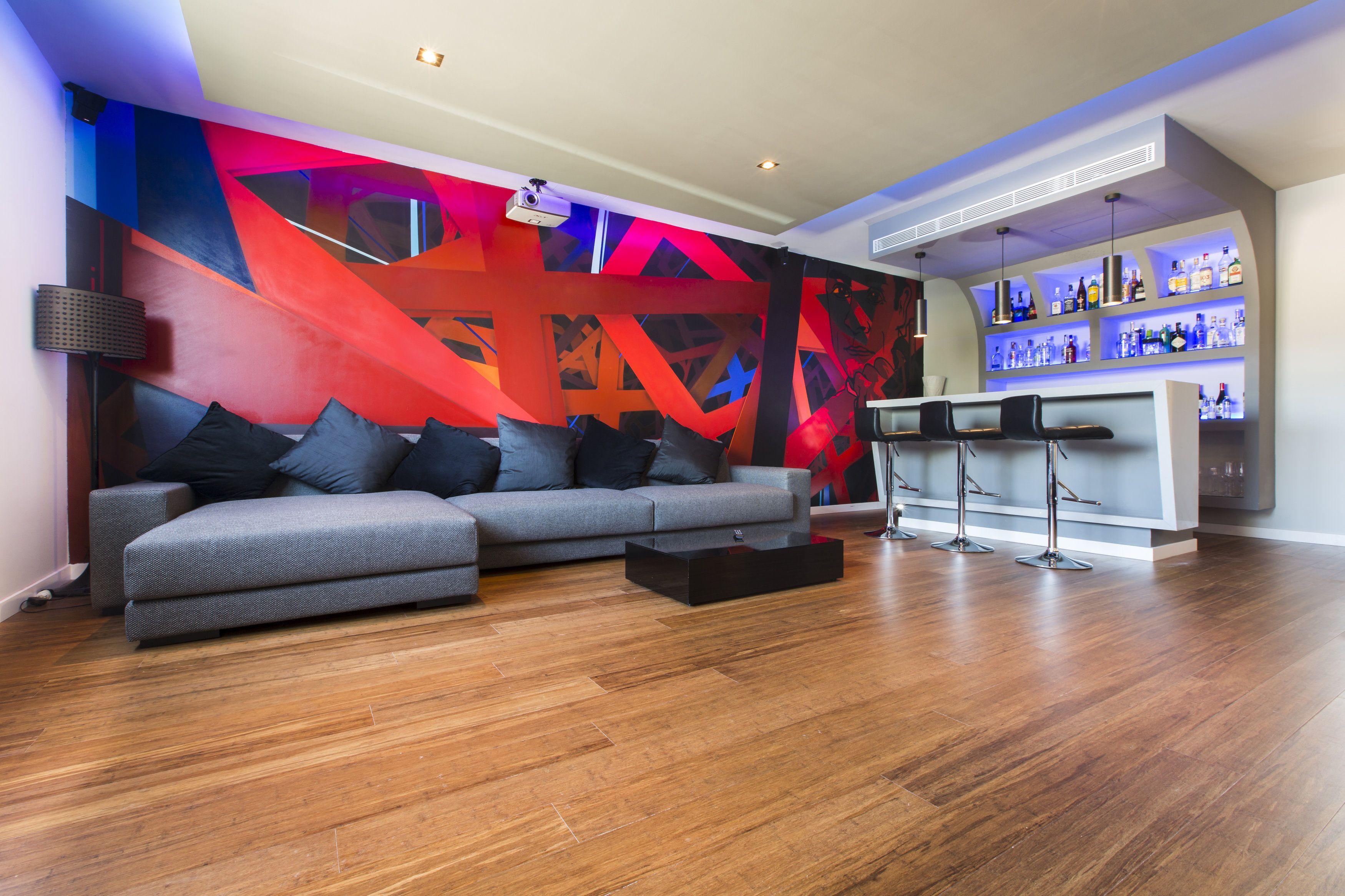 Sala de cine sala de tv barra bar. design pinterest bars for