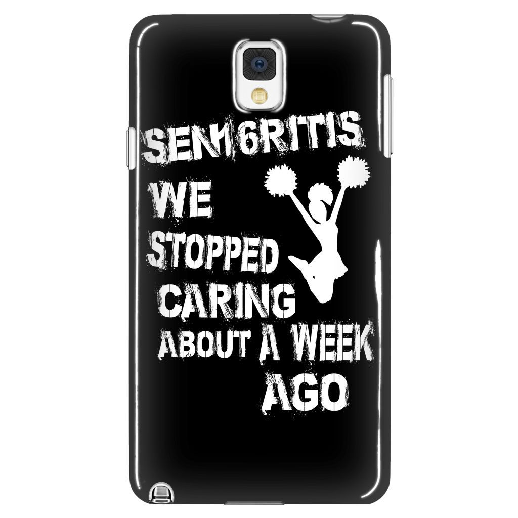 SEN16RITIS We Stopped Caring a Week Ago - Phone Cases