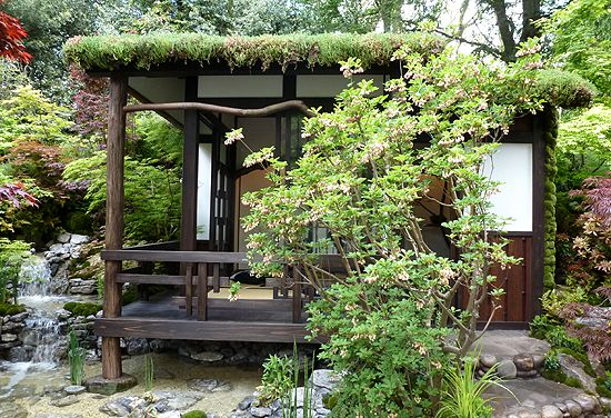Backyard getaway yard and garden pinterest japanese for Japanese style garden buildings