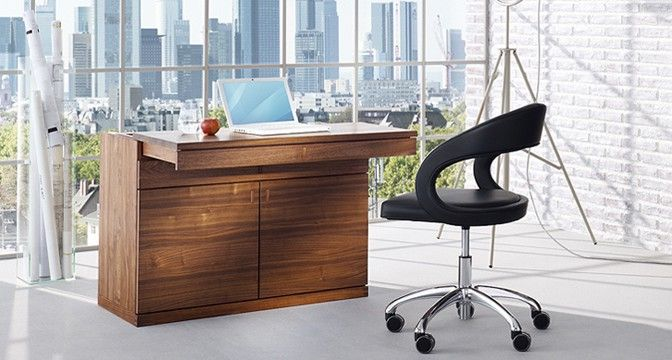 Secretary Laptop Desk, Home Office Designs   Modern Home Office Furniture