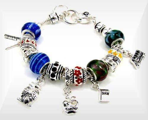 Pandora Style Bracelets Dangle School