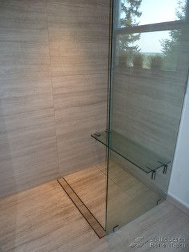 Handicap Accessible Curbless Shower Design Ideas, Pictures, Remodel ...