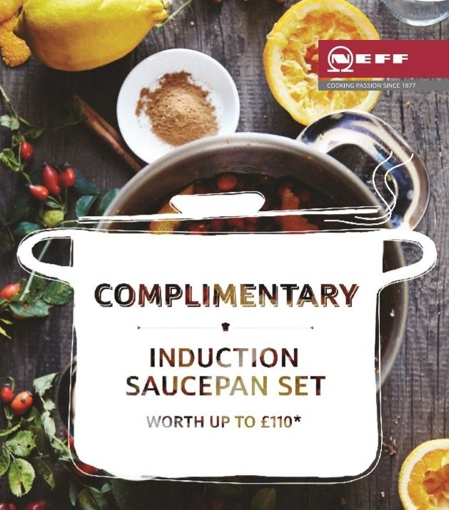 Interested In A Free Induction Saucepan Set With Your New Neff