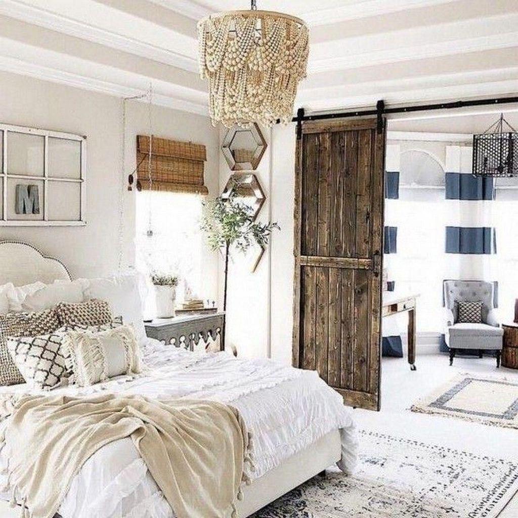 39 Beautiful Modern Farmhouse Bedroom Ideas For Master ...