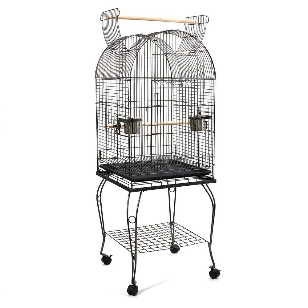 I Pet 150cm Bird Cage Parrot Aviary Pet Stand Alone Budgie Perch Castor Wheels L In 2020 Parrot Pet Large Bird Cages Pet Bird Cage
