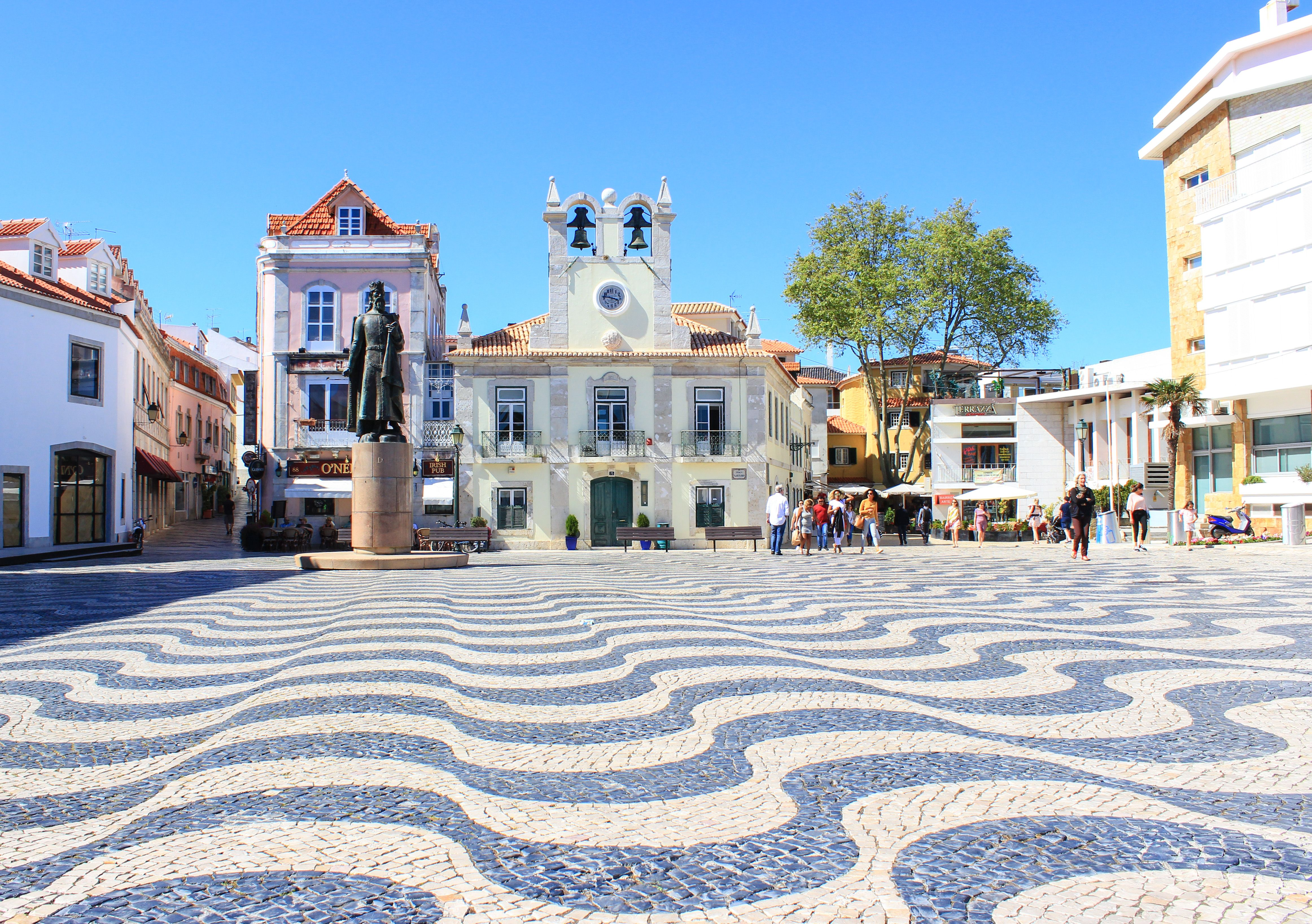 Mosaic Pathways Cascais Portugal House Styles House