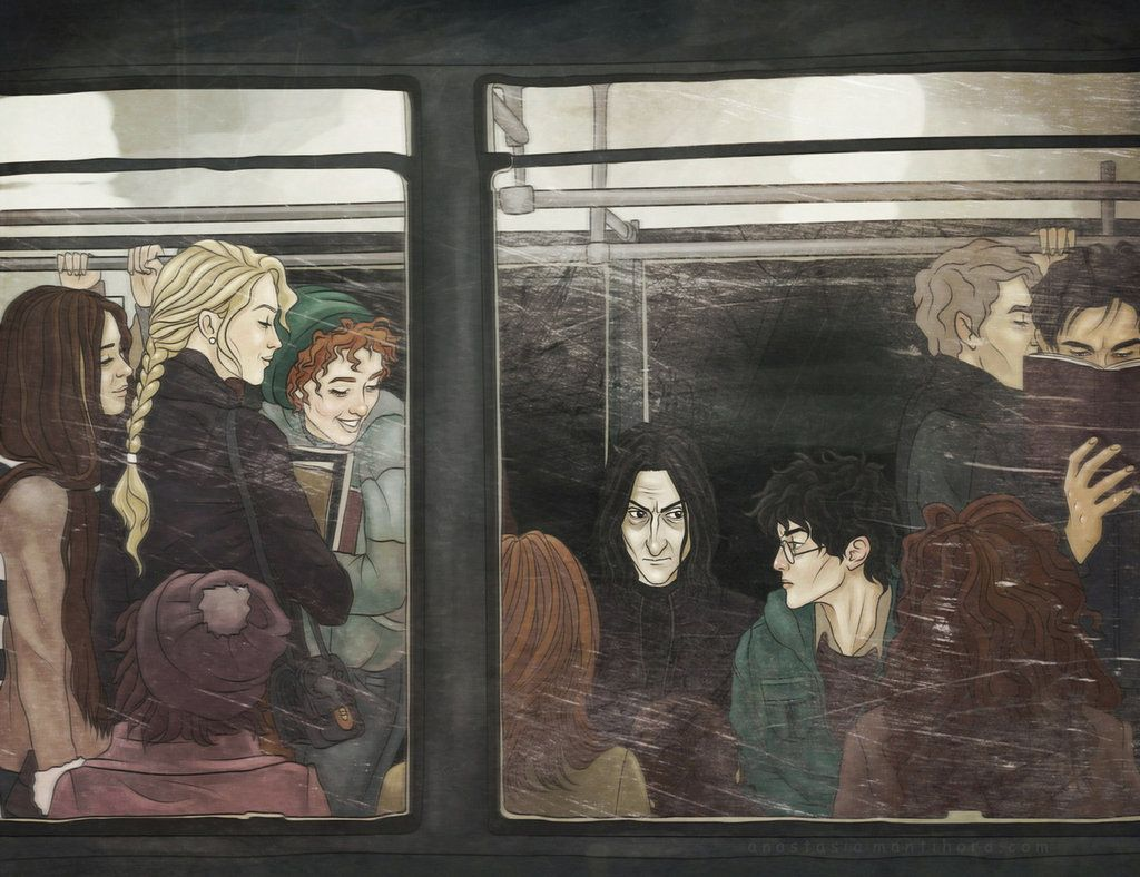 James Potter Libros Prince In The Subway Severus Snape Harry Potter Muggle