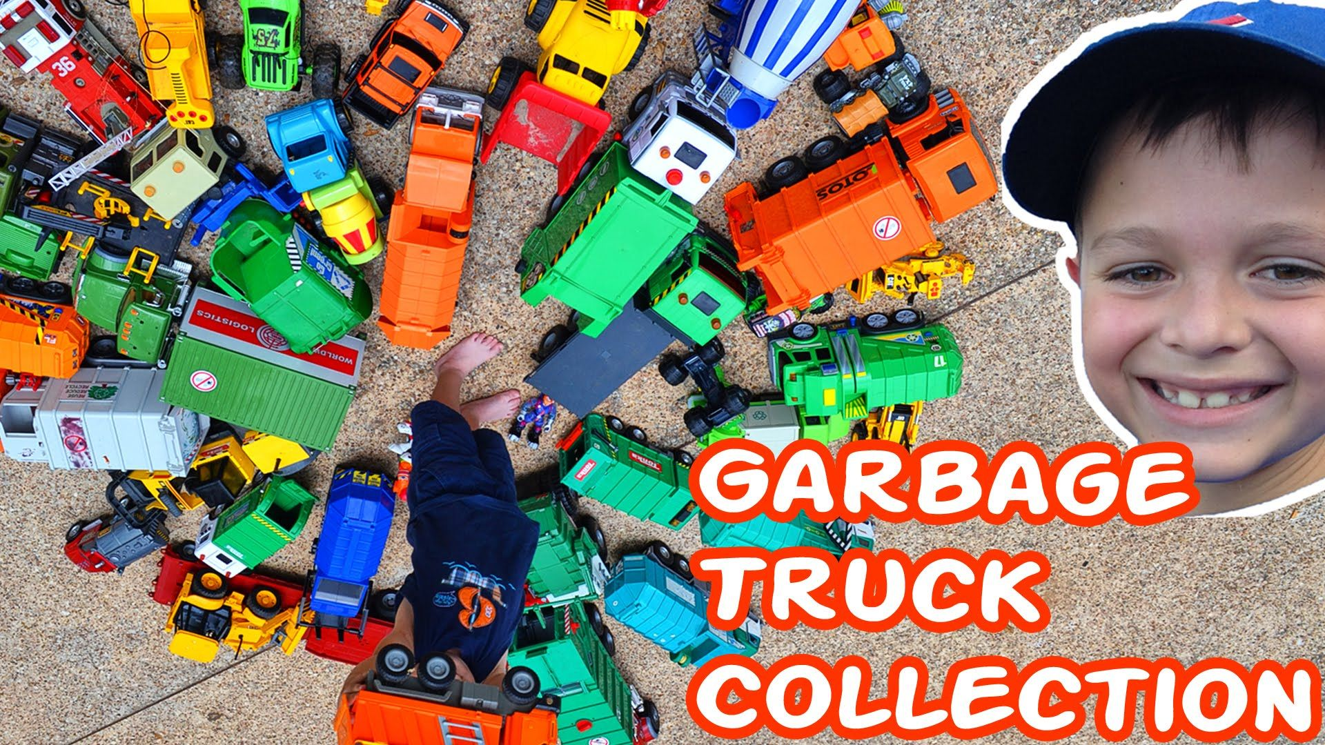 AMAZING Toy Garbage Truck Collection  l Garbage Trucks Rule l Videos For...