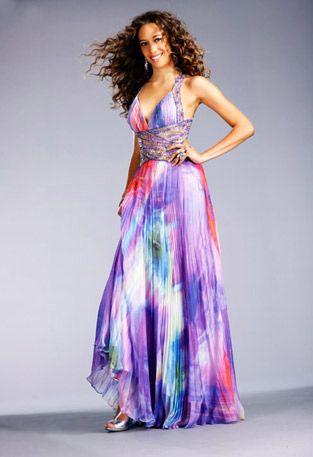 tie dye prom dress. | My Style | Pinterest | Prom dresses, Dyes ...