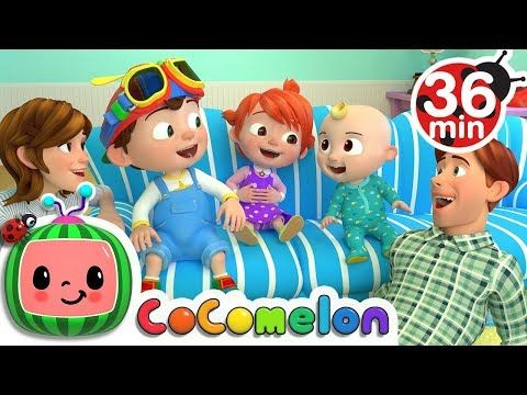 Laughing Baby with Family +More Nursery Rhymes & Kids