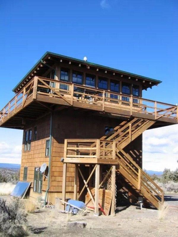Watch Tower Cabin In Terebonne 0018