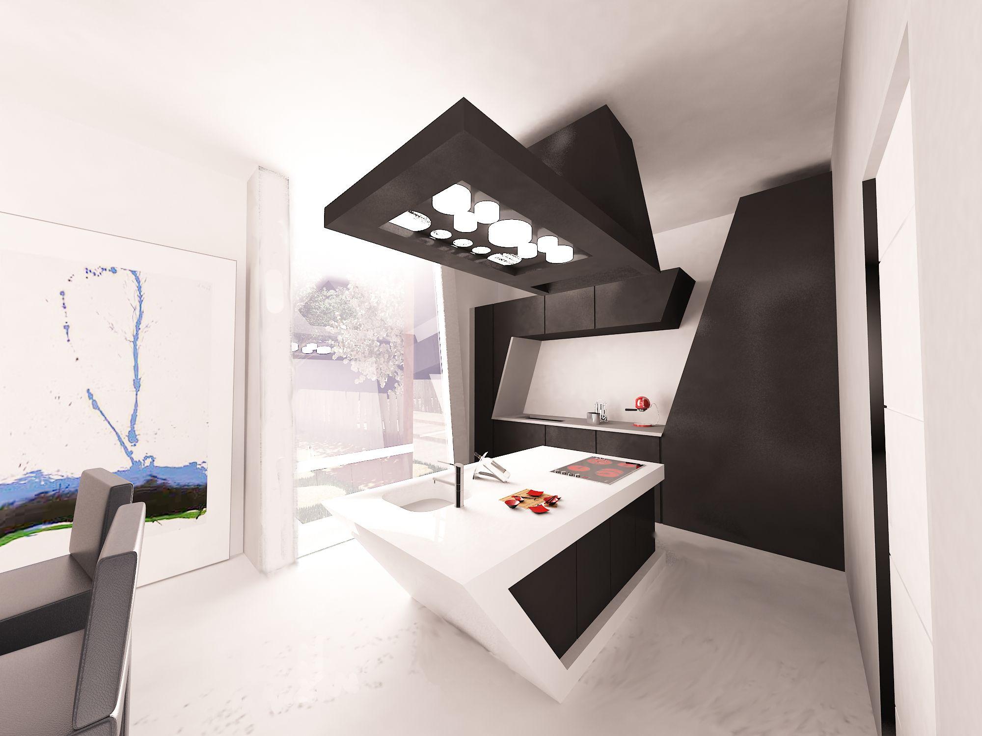 Cocina #vanguardista #decoracion via @planreforma #mobiliario de ...