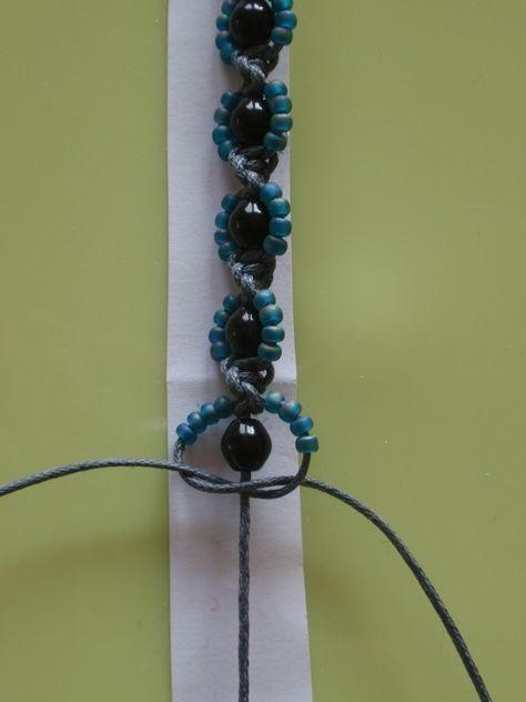 www.daniela-kocia ... - MAKRAMÉ - Makramee Armband Blumen #macrame