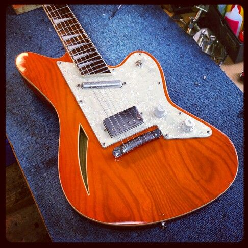 Guitar Jackson Surfcaster In For Repair