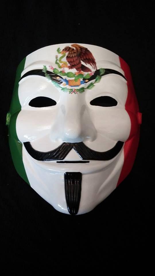 Viva La Mexico Custom Anonymous Mask From Www Myanonstore Com