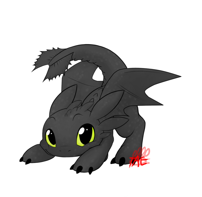 Toothless By The Tae Deviantart Com On Deviantart Croquemou
