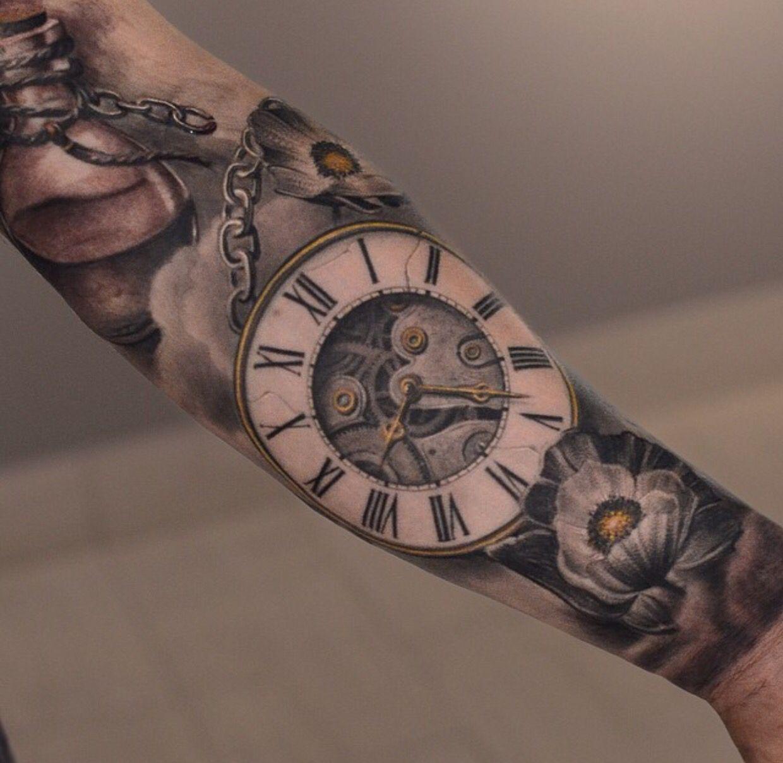 Clock Clockwork Tattoo Watch Tattoos Watch Tattoo Design Tattoos