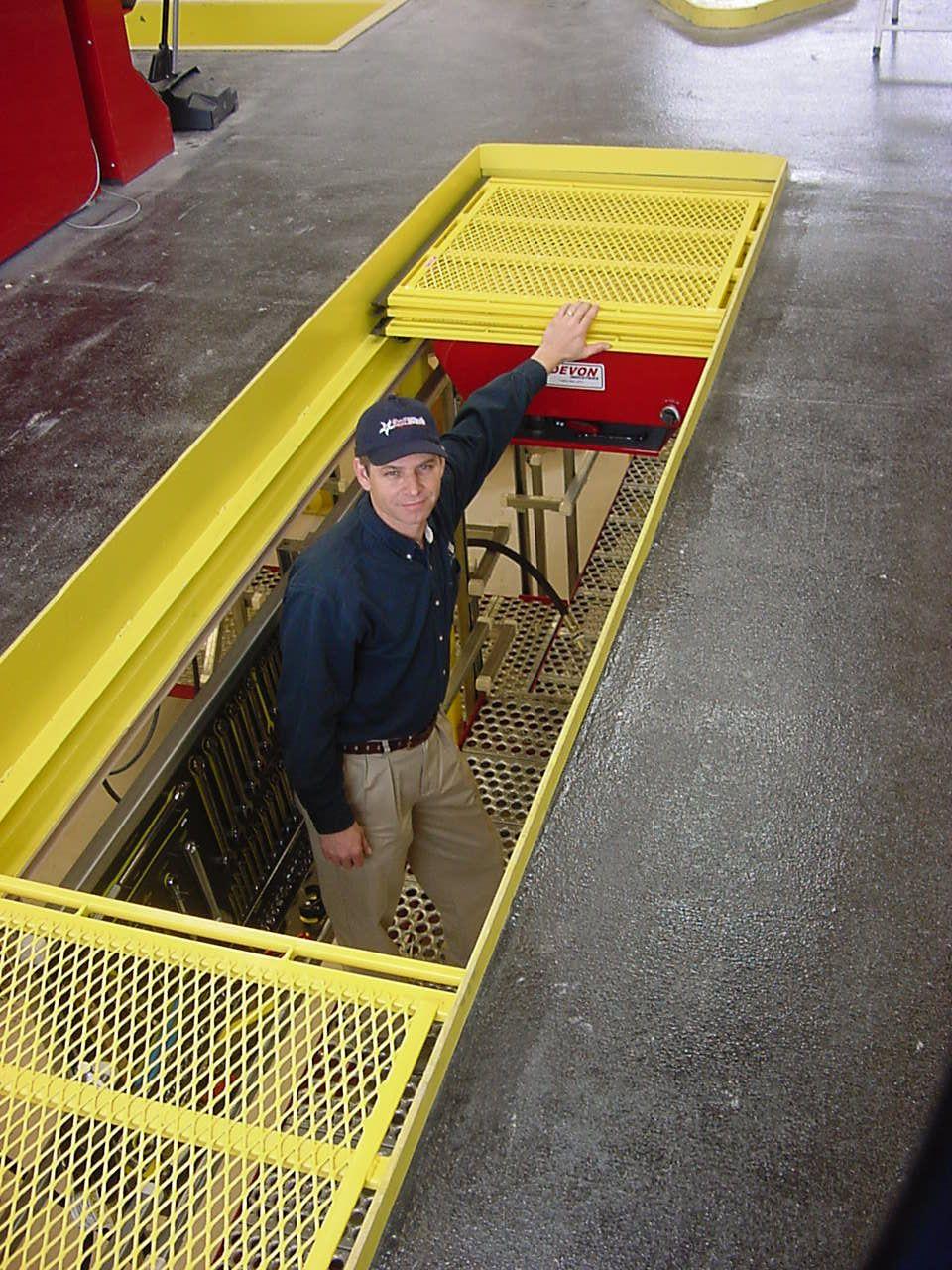 EZGlide Pit Safety Cover Garage makeover, Garage plans