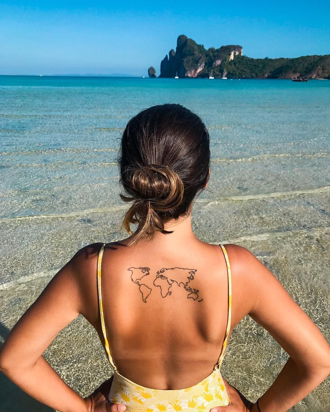 101 einzigartige Reise-Tattoos, die Ihr ewiges Fernweh befeuern   – Tattoos!