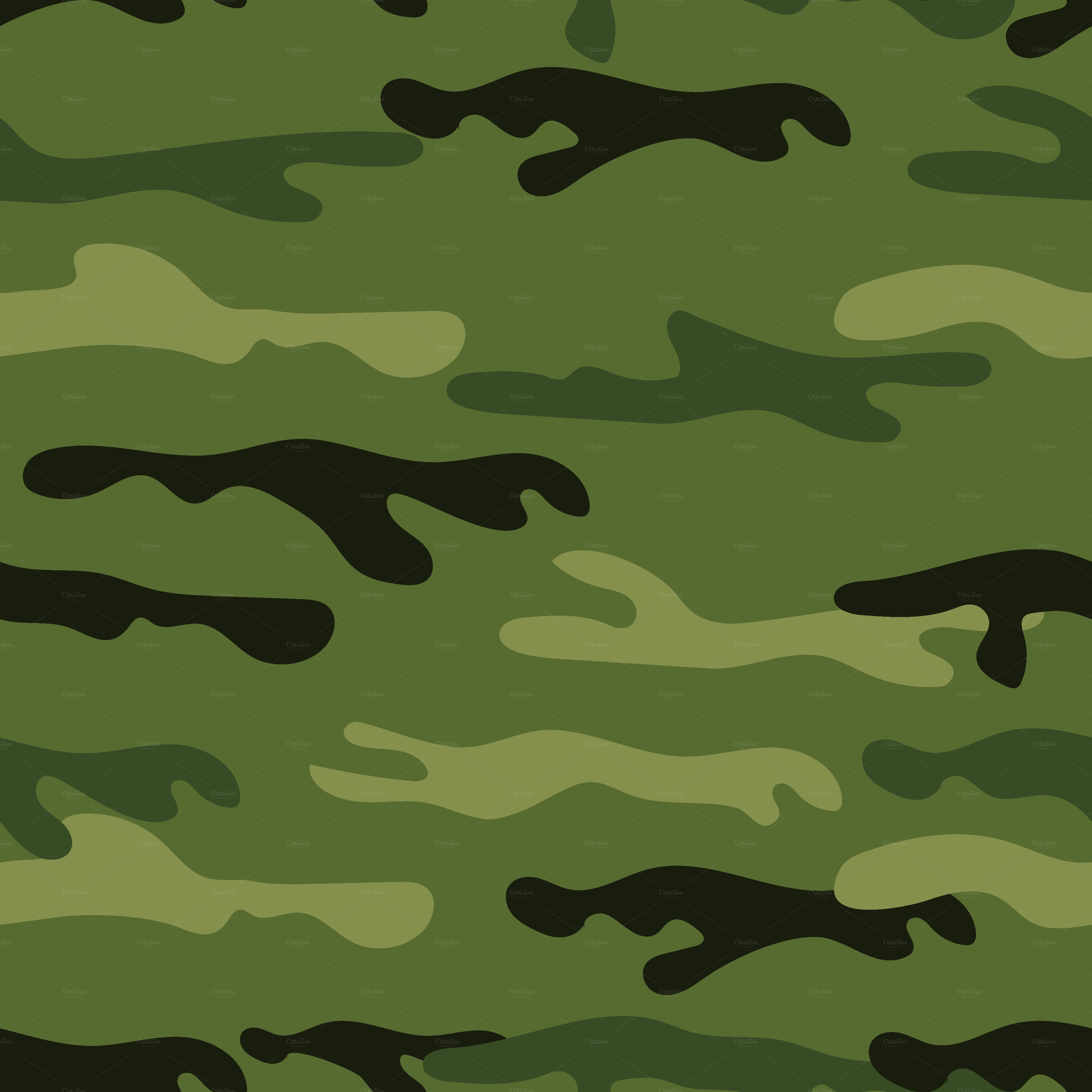 18Camouflage Military Digital Paper by Ivan Negin on @creativemarket ...