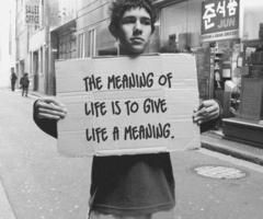 the meaning of life?
