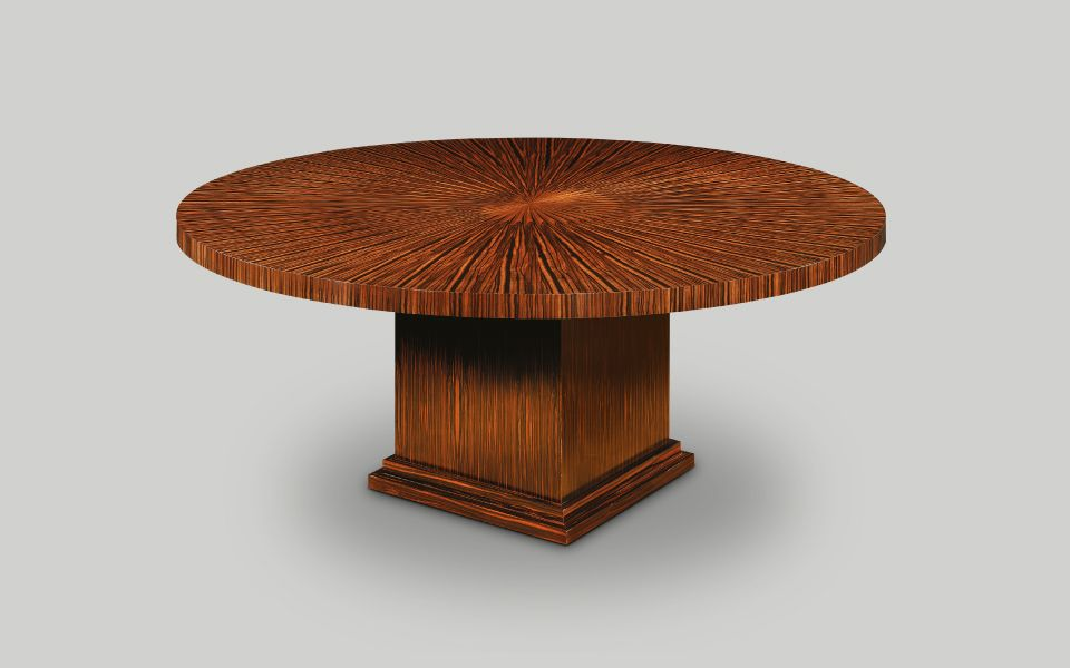 English Reproduction Dining Furniture Tables Table Art Deco
