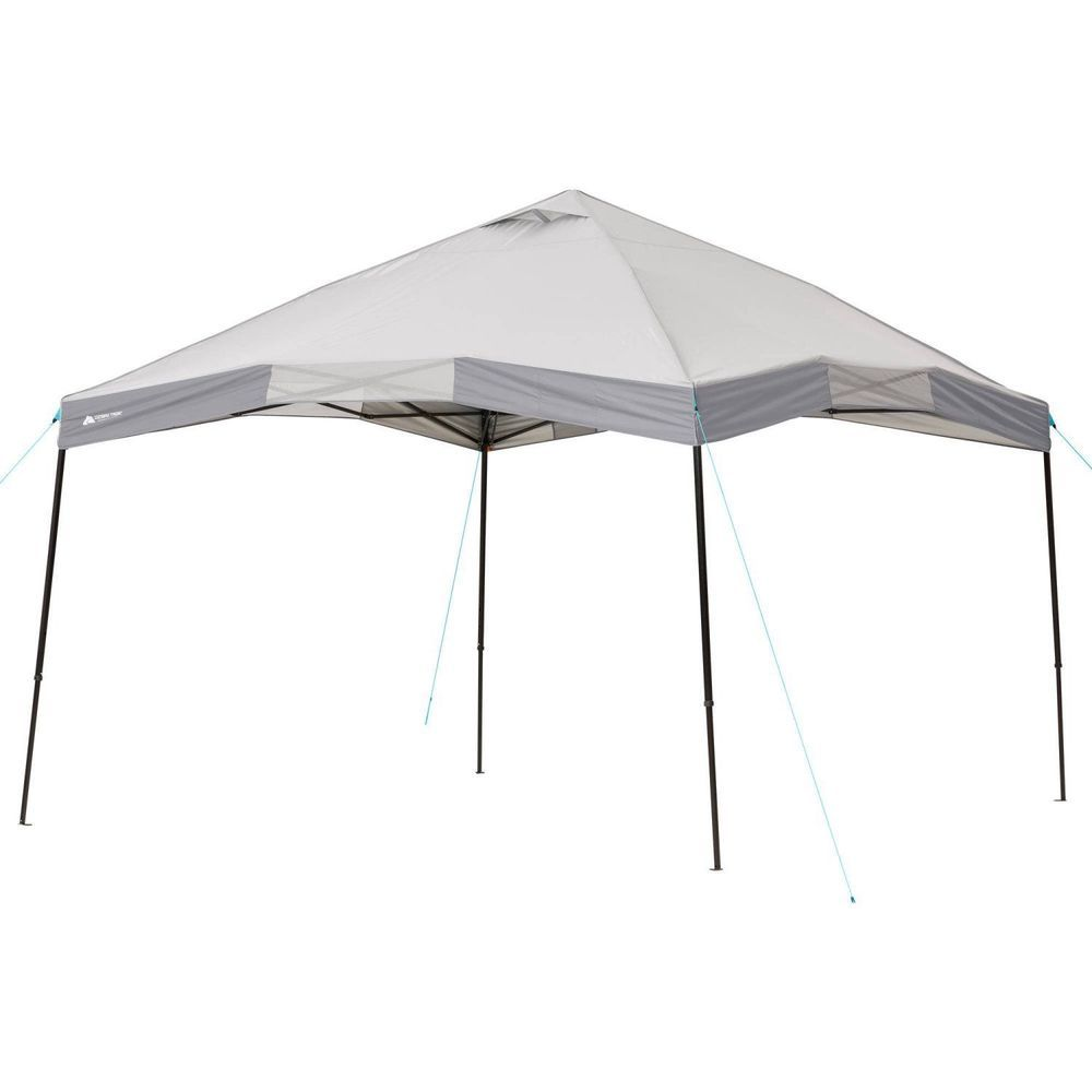 12 X12 Instant Heavy Duty Canopy Tent Push Button Mesh Pocket Roof Vents Bag 12x12instantheavy
