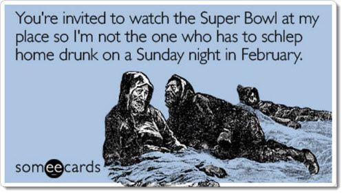 535fe0517b3444306dac55db5d0d98e6 super bowl humor schlep home drunk party lol pinterest drunk