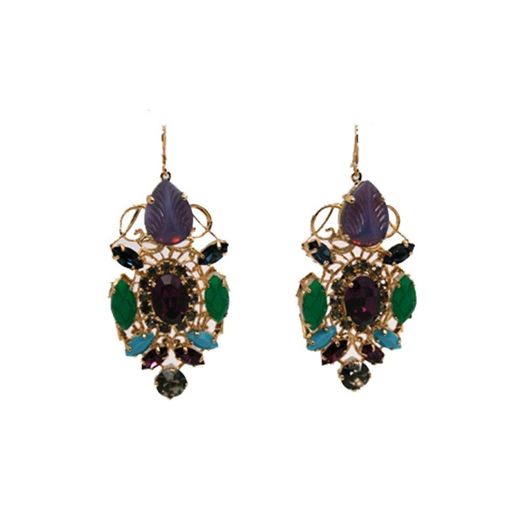 Chandelier Earrings, Anton Heunis, lespommettes.com, $265 ...