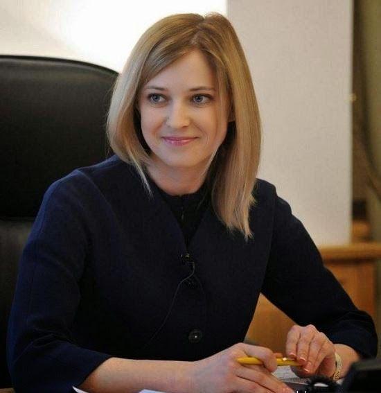 Oddfuttos When The Photos Speak Natalia Poklonskaya The Most