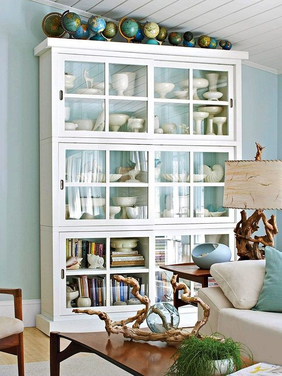 White cabinet!! | For the Home | Pinterest | Bonito, Vitrinas y Salón