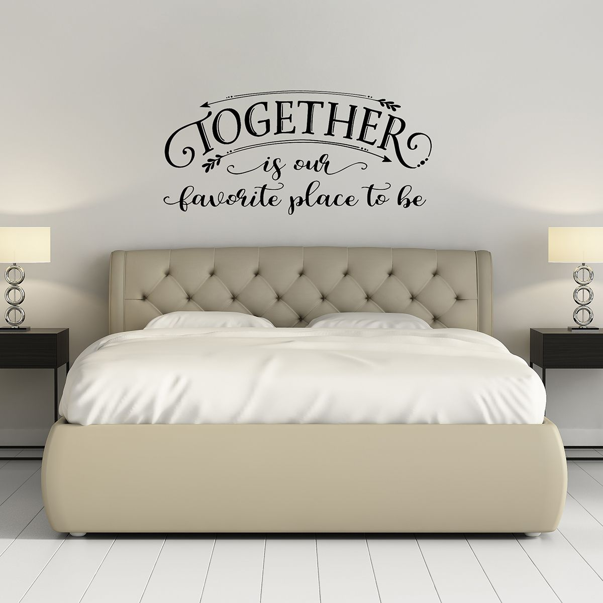 Beautiful love quotes - life Together quotes - Wall art decals