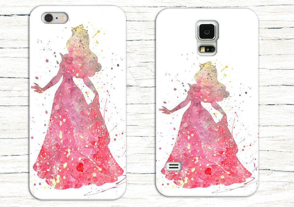 Disney iPhone Case Watercolour Princess