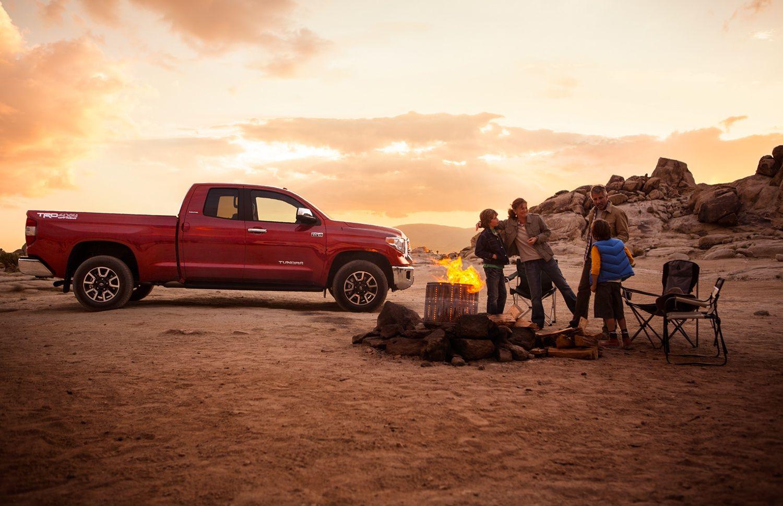 2015 Toyota Tundra Work ready. Family tough. (With