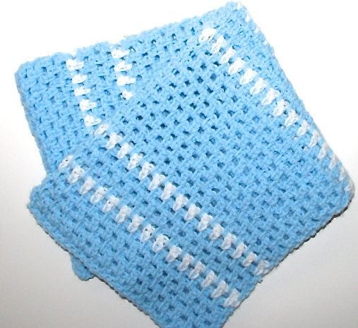 Easy Baby Blanket Crochet Pattern Light And Airy Reversible Baby
