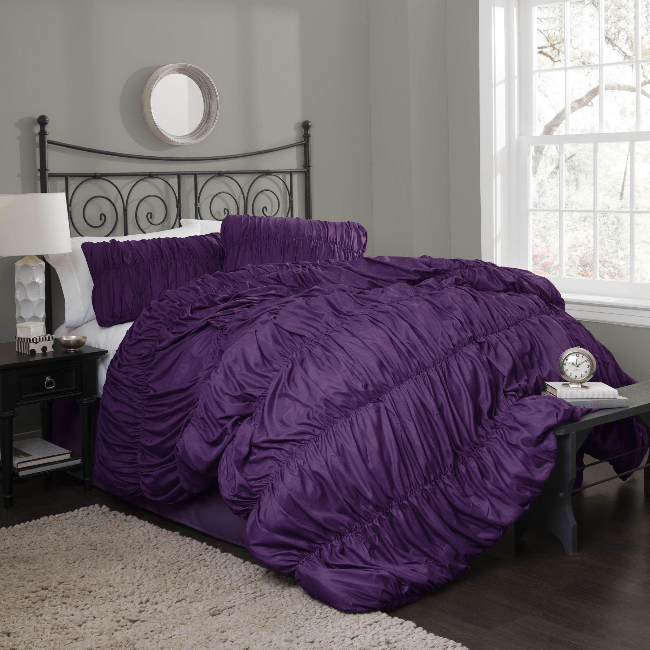 Lush Decor Venetian 4 Piece Comforter Set
