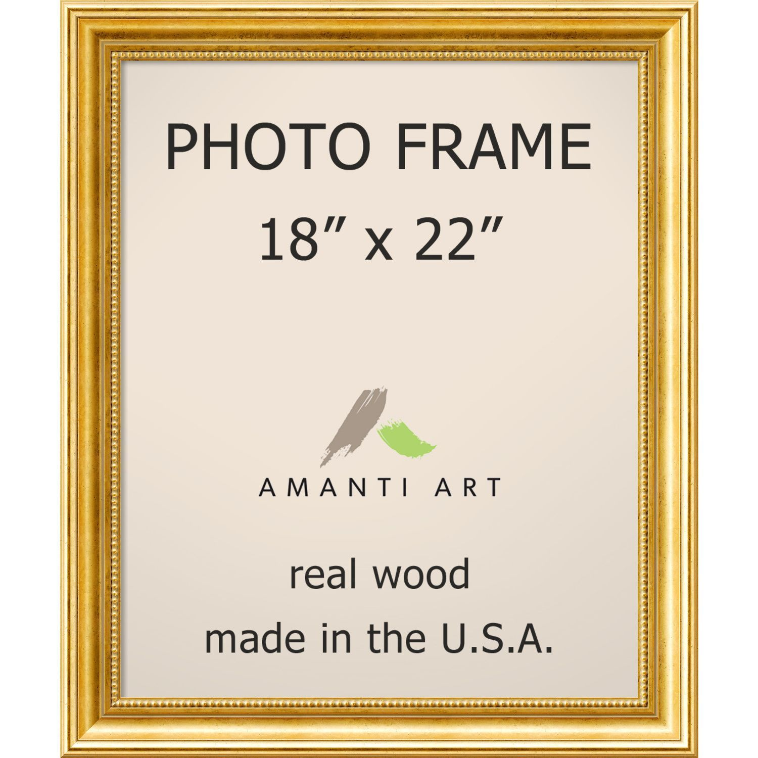 Townhouse Gold Photo Frame 21 X 25 Inch Gold Photo Frame 18x22