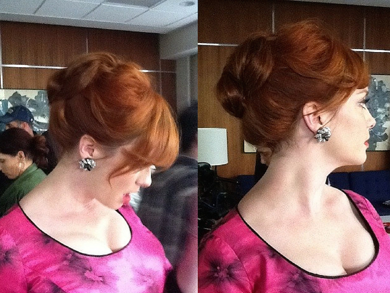 Get The Look: #ChristinaHendricks From Mad Men Looks | How To Be A Redhead