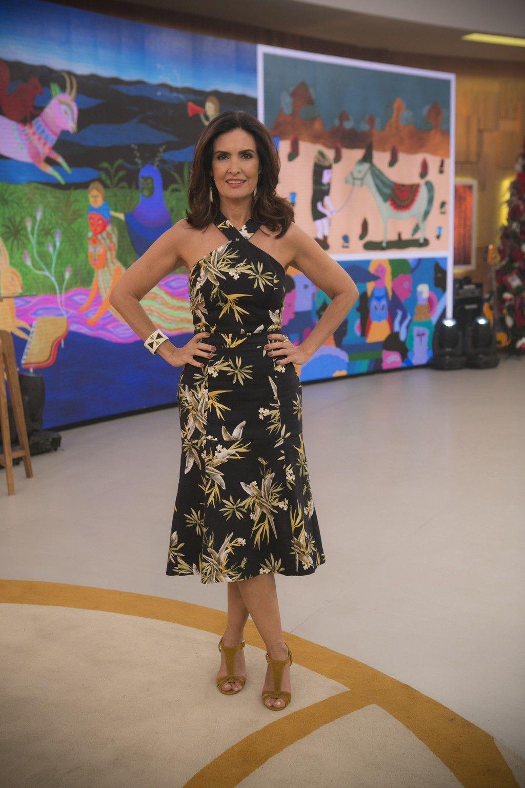 Fátima Bernardes conta como emagreceu: 'Aumentei a quantidade de  exercícios' | Vestidos, Lindos vestidos casuais, Vestidos estilosos