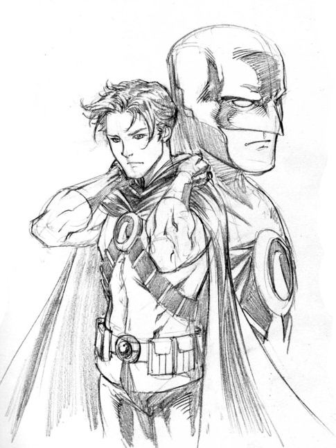 nightwing new 52 coloring pages - photo#43