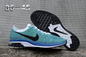 218ffc4227c65 Mens Womens Nike Air Zoom Mariah Flyknit Racer Green Black White Blue  Running Shoes