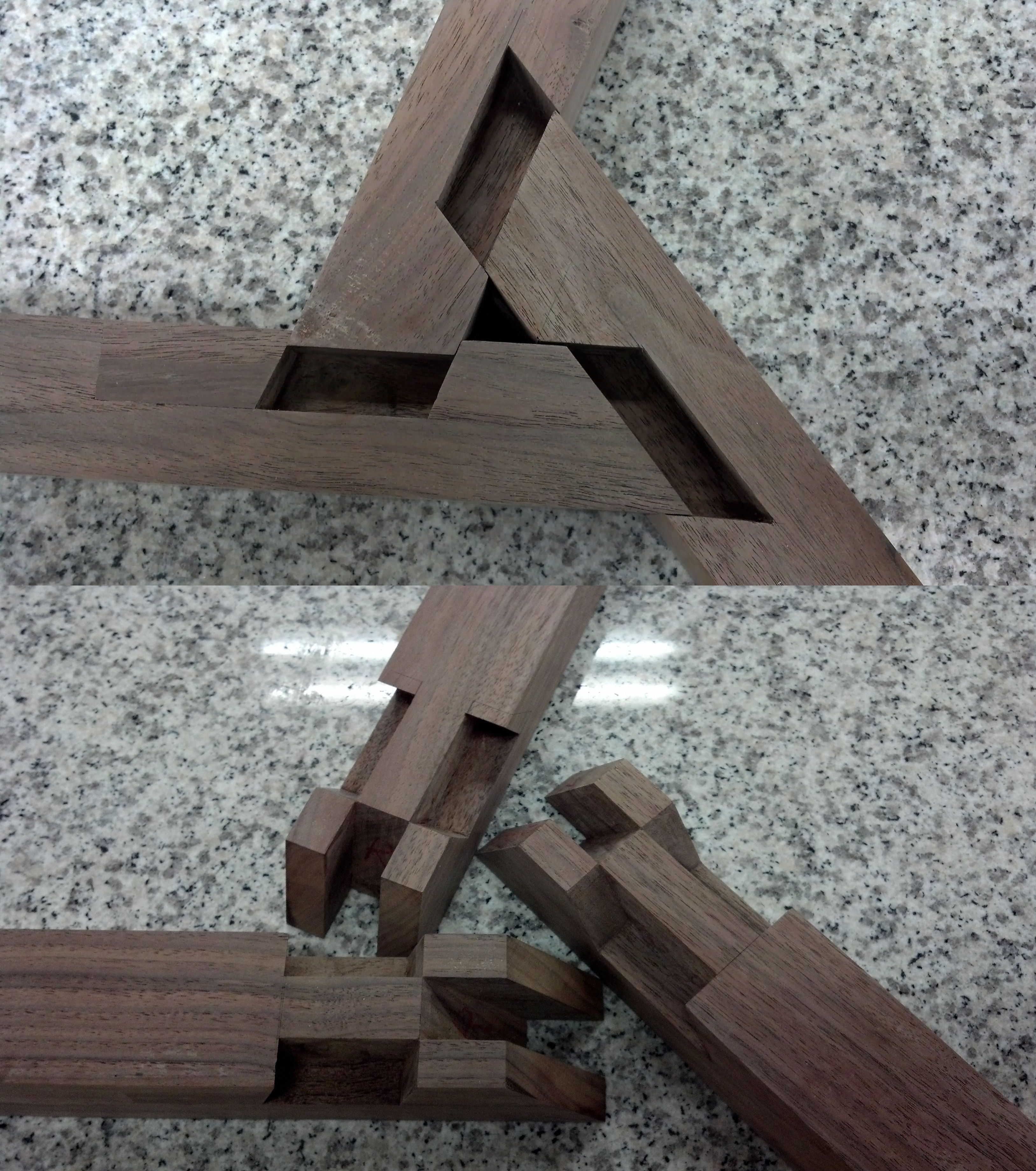 3-way wheel joint | WOOD | Pinterest | Wheels, Joinery and Woodworking