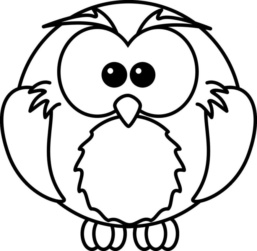 Owls Coloring Pages Free Printable Halloween Owl Coloring Pages