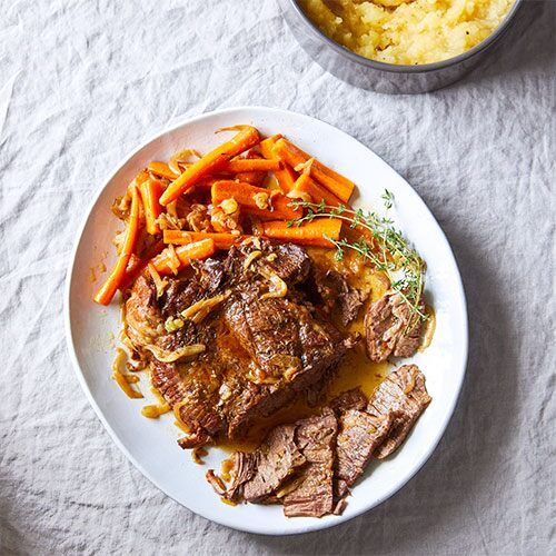 Quick Cooker Pot Roast With Mashed Potatoes Recipe Best Pressure Cooker Recipes Roast Main