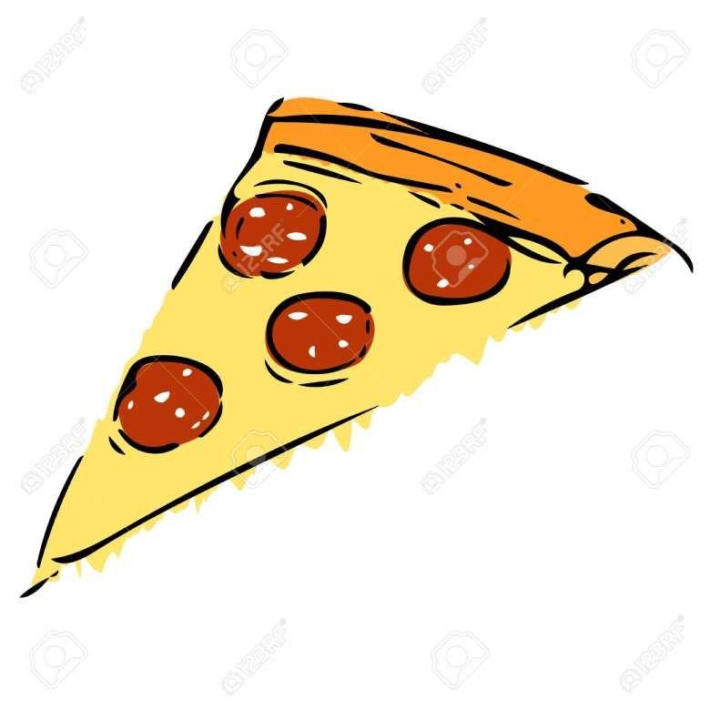 15 Pizza Slice Drawing Pizza Slice Drawing Pizza Drawing Pizza Slice