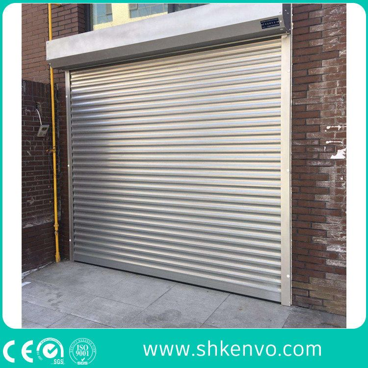 China Industrial Or Commercial Automatic Aluminum Thermal Insulated Electric Overhead Vertical Roll Up Or Roll In 2020 Garage Doors Roller Shutters Rolling Garage Door