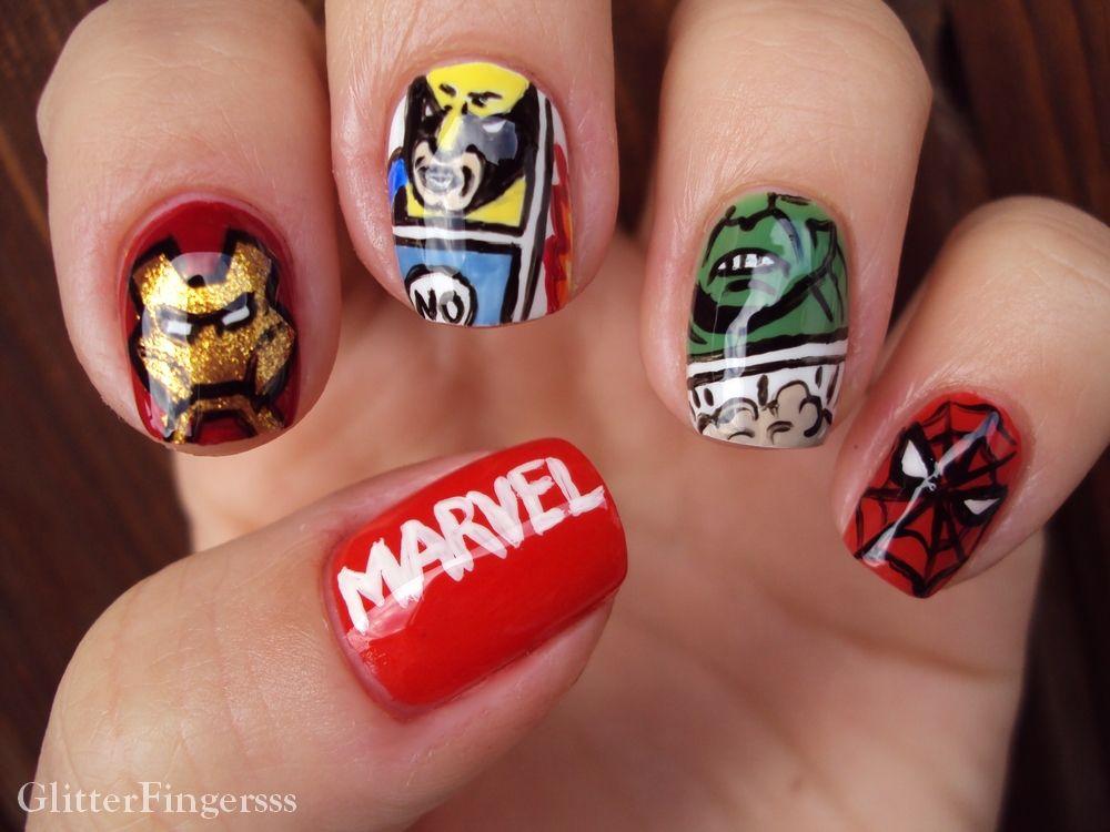Glitterfinger Lexa #nail #nails #nailart | Nailed it! - Patterns ...