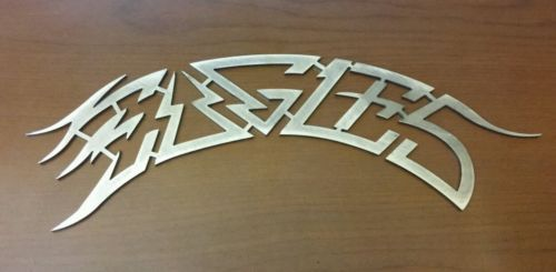Eagles lot of 2 signs emblems american band logo 70s 80s don